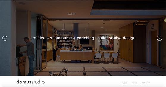 architectural design studio website