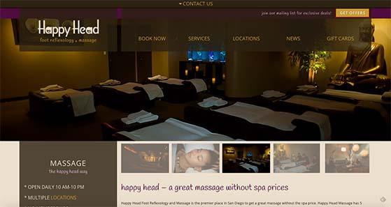 Happy Head Massage SEO