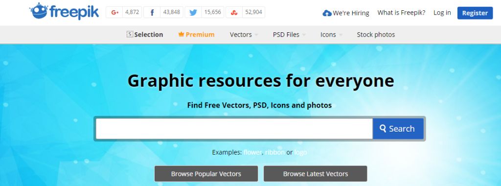 freepik graphic resources